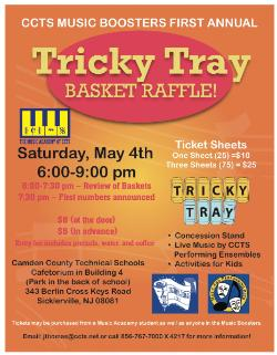 YOU'RE INVITED TO A TRICKY TRAY RAFFLE BASKET FUNDRAISER - News and